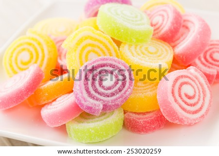 Sweet Jelly - stock photo