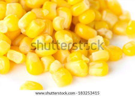 Sweet kernel corn - stock photo