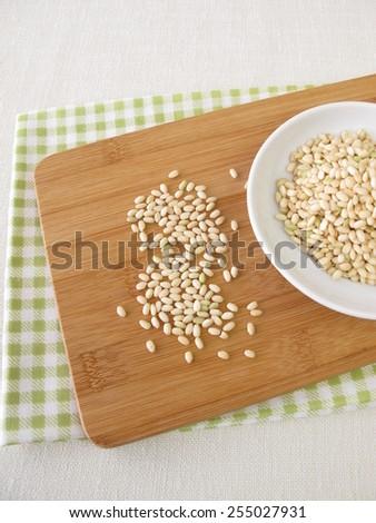 Sweet mochi rice - stock photo