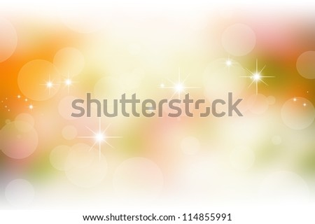 sweet nature bokeh background with blurred lights - stock photo