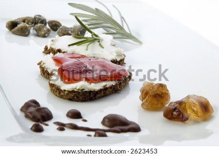 sweet or no more sweet valentines day. breakfast - stock photo