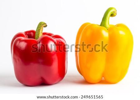 sweet pepper - stock photo