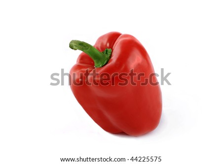 Sweet pepper, excellent vegetable which is applied in preparation of salads and other dishes - stock photo