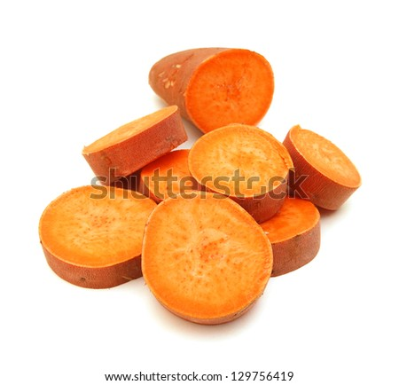 Sweet potatoes - stock photo