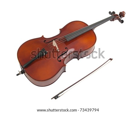 Sweet sound of the violin - stock photo