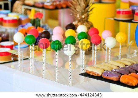 Sweet sugar candies. - stock photo