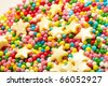sweet sugar spreading pastry decoration - stock photo