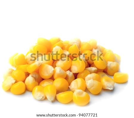 Sweet whole kernel corn - stock photo