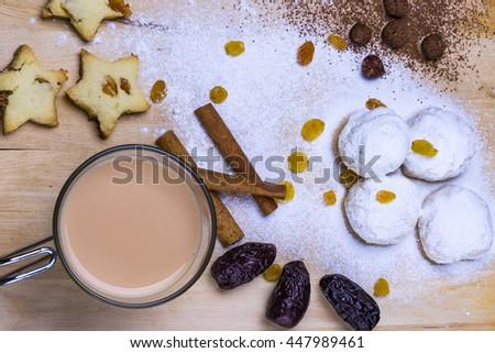 Popular Dessert Eid Al-Fitr Feast - stock-photo-sweets-for-celebration-of-al-fitr-feast-447989461  HD_577060 .jpg