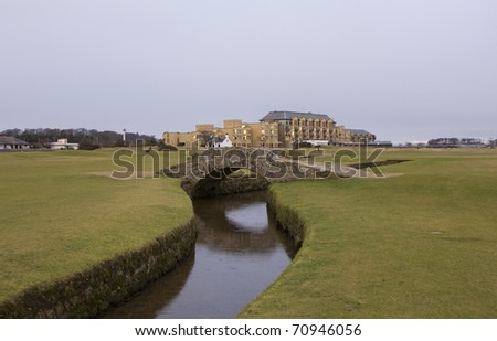 Swilcan Bridge, Old Course, St Andrews