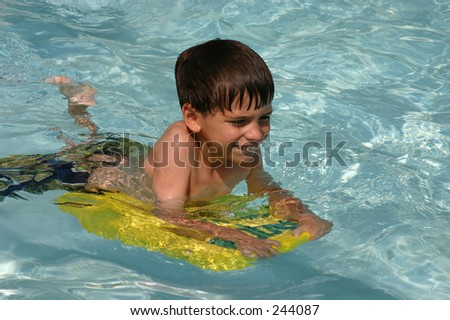 Swim Fun - stock photo
