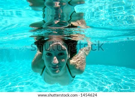 Swimming 1 - stock photo