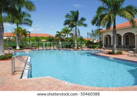 Swimming pool at Residential in Florida