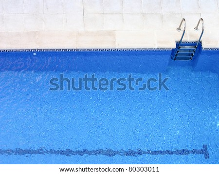 swimming pool background - stock photo