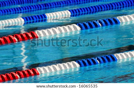 Swimming Lane Marker Stock Images Royalty Free Images