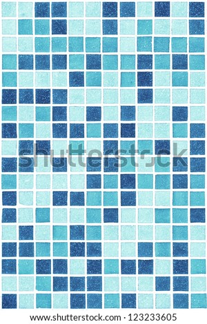 Swimming pool texture background. Blue color - stock photo