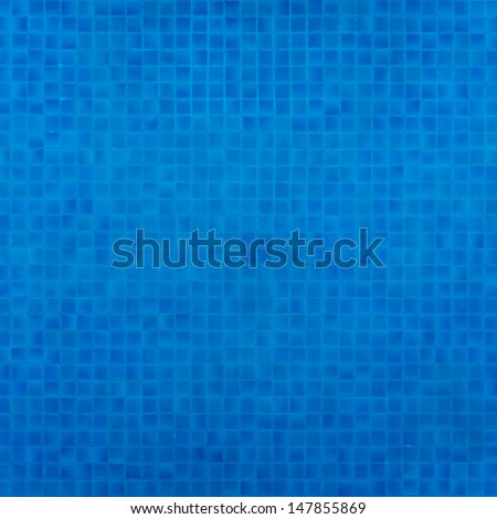 Swimming pool top view - stock photo