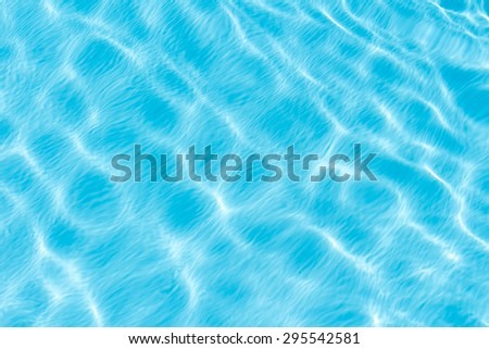 Swimming pool water background. - stock photo