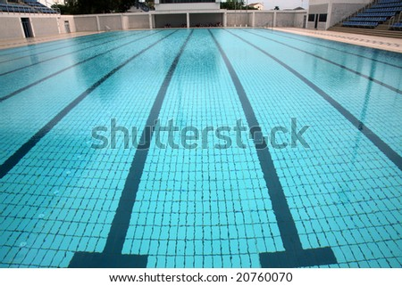 Olympic Pool Stock Photos Images Pictures Shutterstock