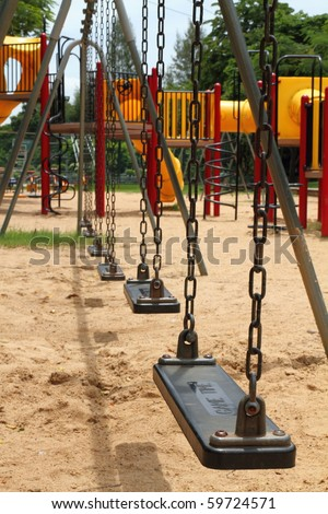 swing - stock photo