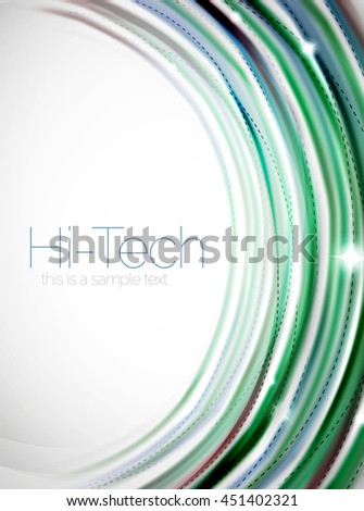 Swirl abstract background. blur waves - stock photo
