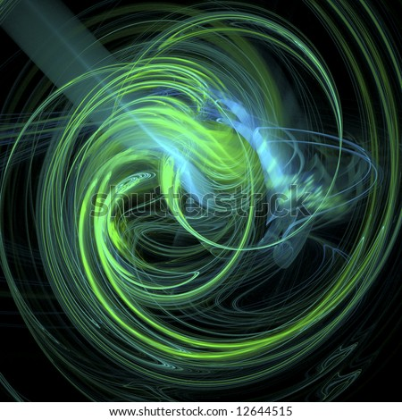 Swirling Galaxy - stock photo