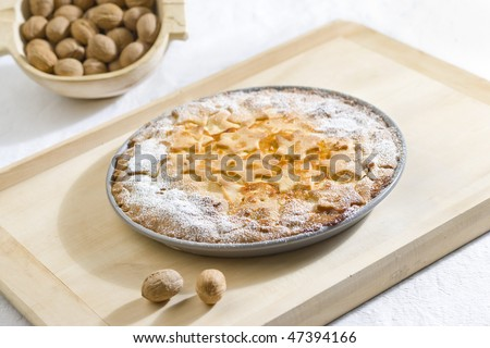 Swiss cake - stock photo