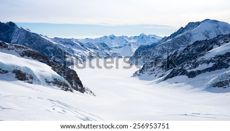 Swiss mountain, Jungfrau, Switzerland, ski resort
