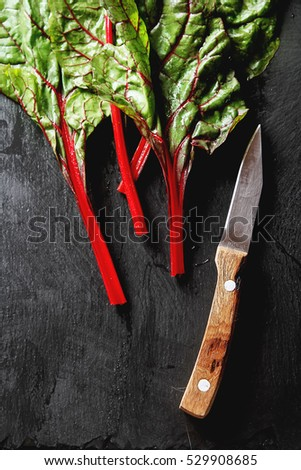 african red slate swiss chard stock images royalty free images vectors shutterstock
