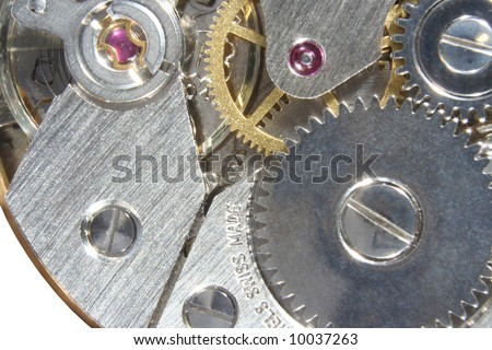 Swiss watch mechanism