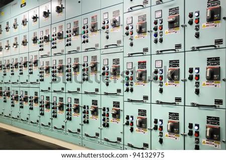 switcboard - stock photo