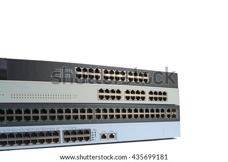 switch router for computer communication with wired local area network.