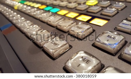 switcher production broadcast tv