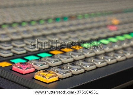 switcher production tv