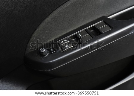 Switches for opening and closing the car window