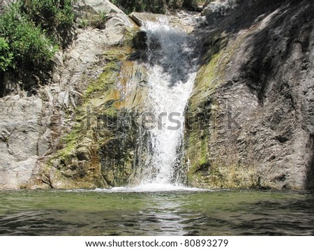 Switzer Falls, Angeles National Forest, California