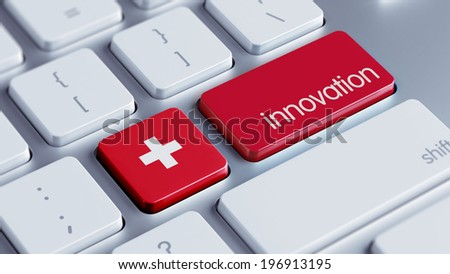 Switzerland High Resolution Innovation Concept - stock photo