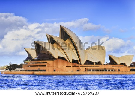 Sydney Australia 30 April 2017 Famous Stock Photo 636769237