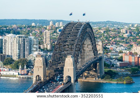 Sydney buildings, Australia. - stock photo
