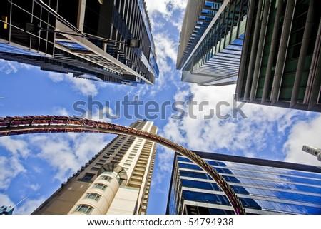 Sydney city centre - stock photo