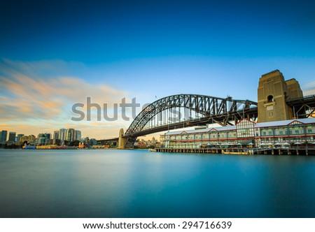 Sydney cityscape, Australia. - stock photo