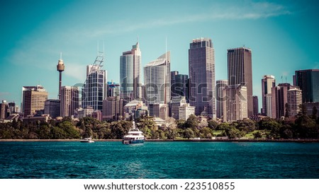 Sydney Harbour - stock photo