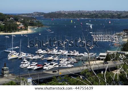 Sydney Harbour - stock photo