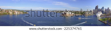 Sydney Harbour, Australia - stock photo