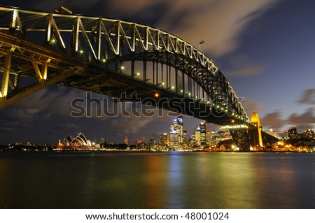 Sydney Harbour Bridge - stock photo