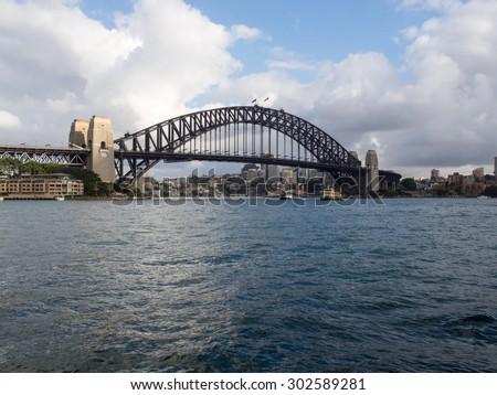 Sydney Harbour Bridge, Australia - stock photo