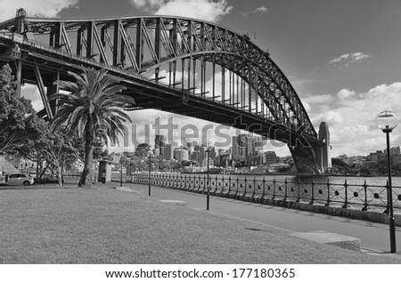 Sydney Harbour Bridge, Sydney Australia - stock photo