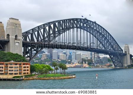 Sydney Harbour Bridge, Sydney, Australia - stock photo