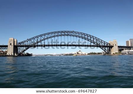 Sydney Harbour Bridge - Sydney Australia - stock photo