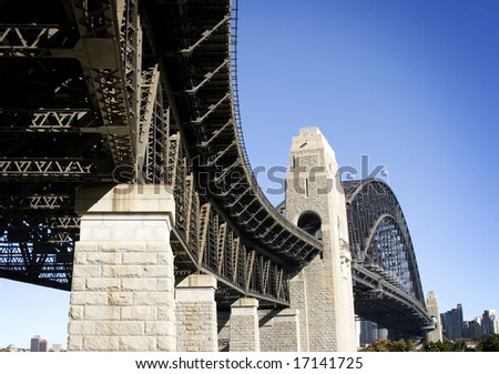 sydney harbour bridge- view from north sydney